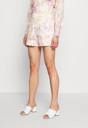 CARMEN PRINTED CORSET SHORTS - Shorts - multi-coloured