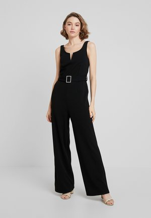VALENCIA SCUBA V NECK - Jumpsuit - black