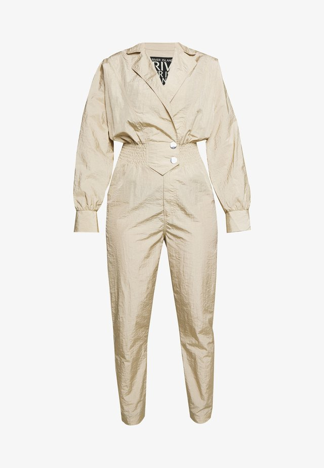 DONALD BOILERSUIT - Overall / Jumpsuit - khaki