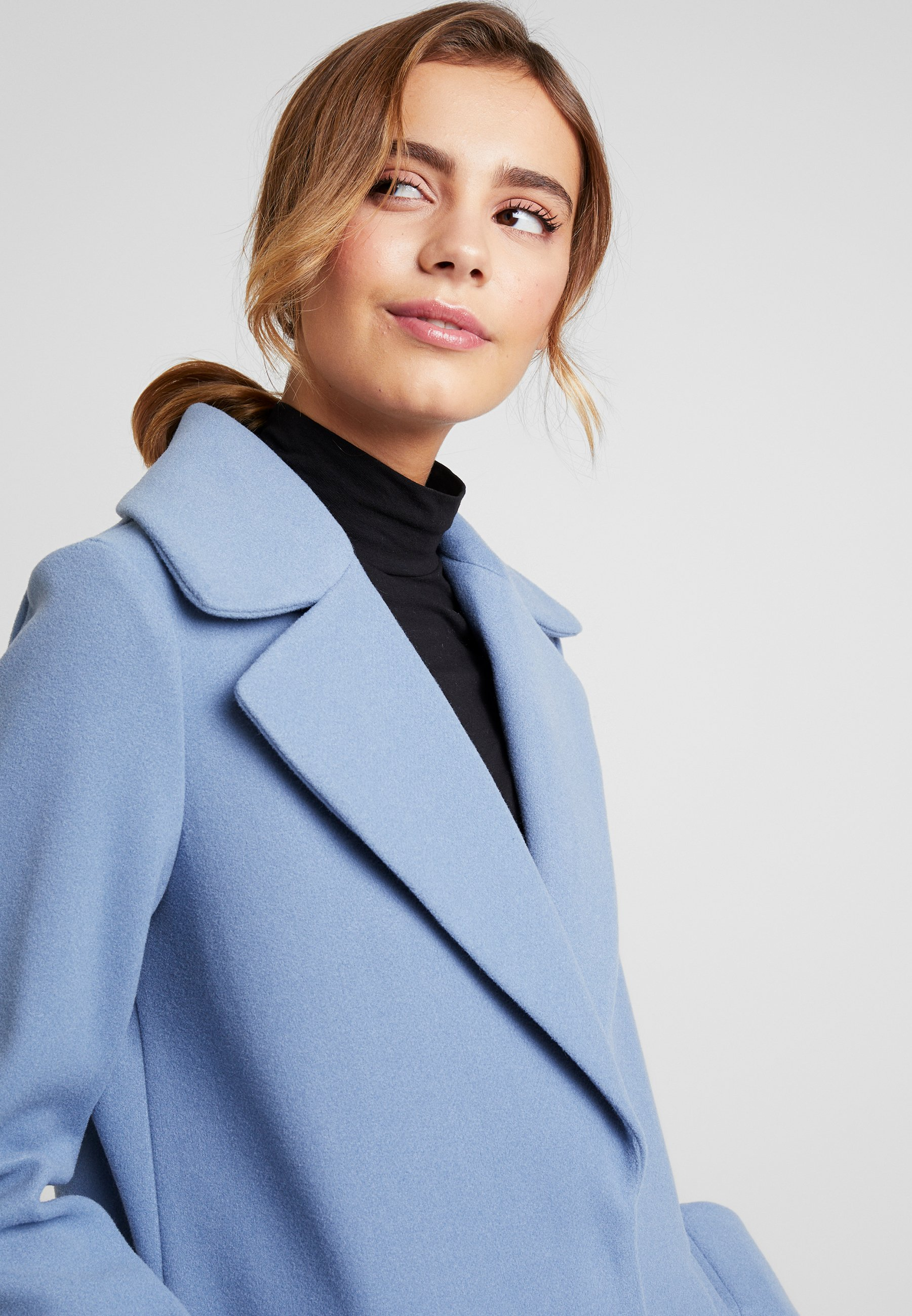 River Island Mantel Blue 20mP4NuW