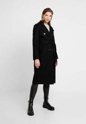 Wollmantel/klassischer Mantel - black