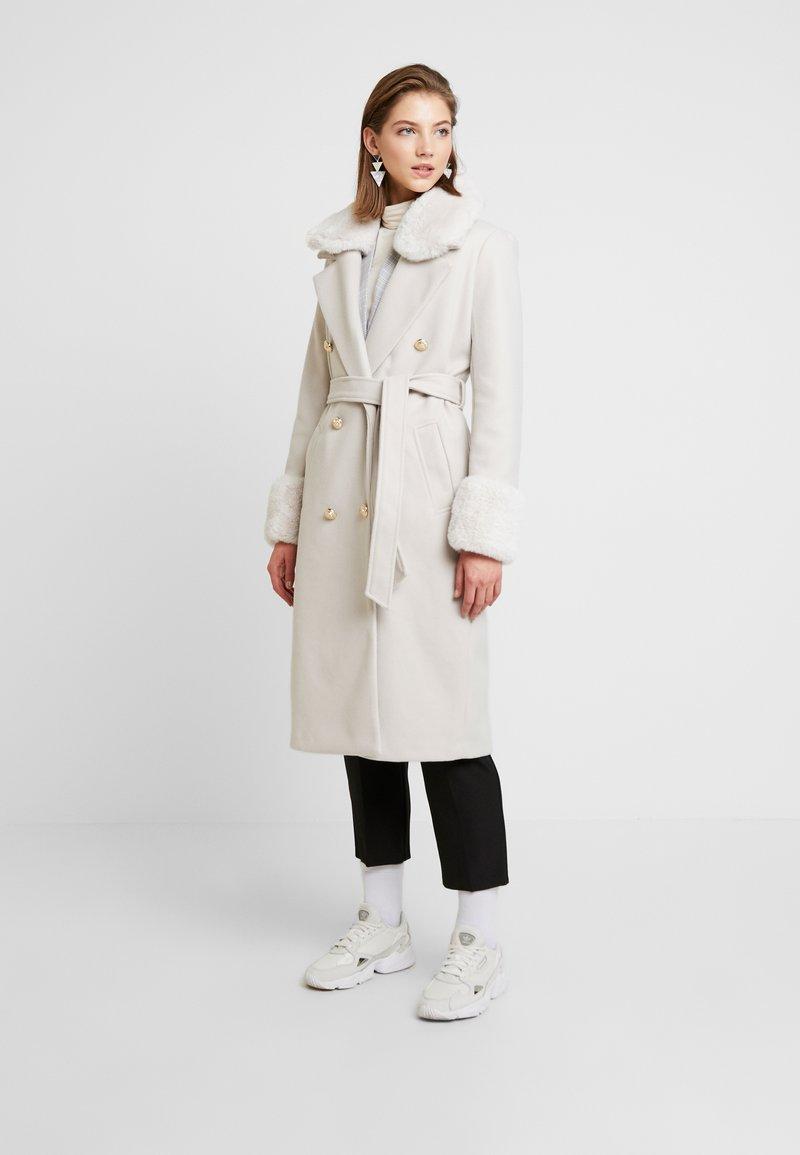 River Island - Zimní kabát - beige