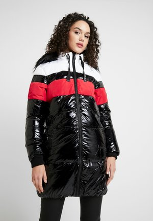 LONGLINE COLOURBLOCK PUFFER - Vinterkappa /-rock - black