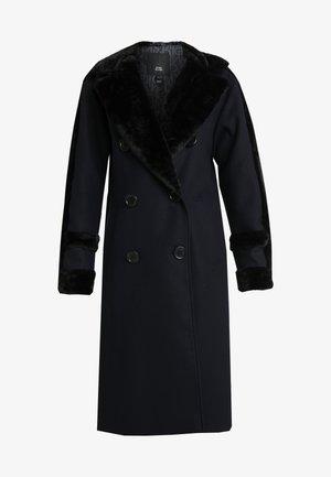 BELLA SHEARLING COAT - Classic coat - navy
