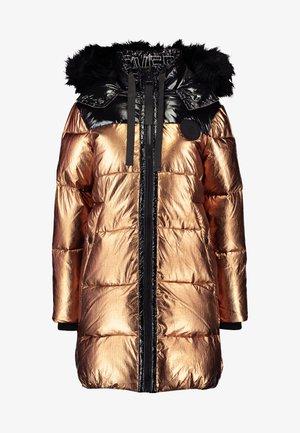 Zimní kabát - bronze