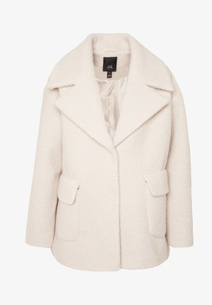 BOUCLE SWING COAT - Krátký kabát - ivory