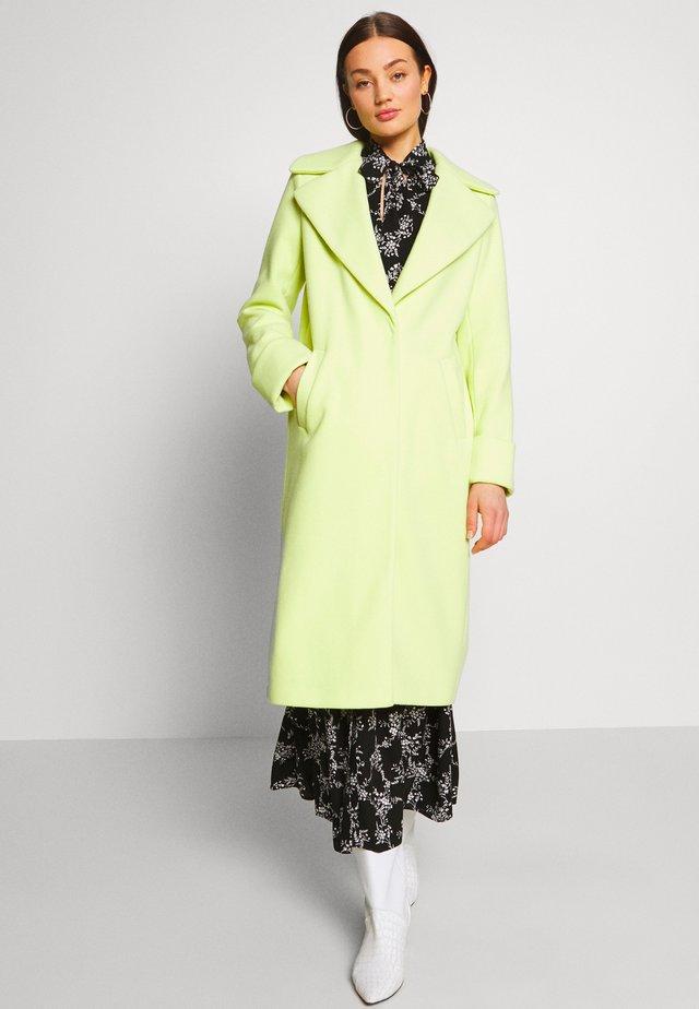 ADRIANA COAT - Classic coat - lime