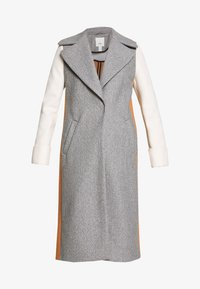 River Island - ADRIANA COAT COLOURBLOCK - Mantel - grey - 3