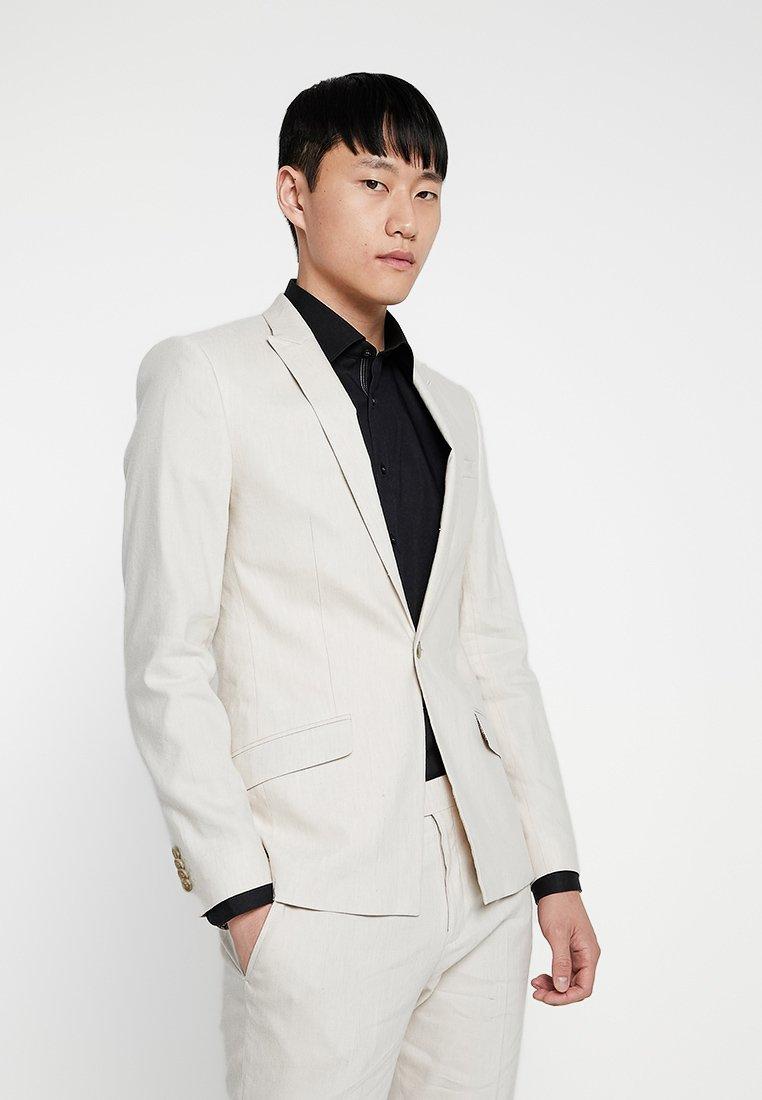 River Island - Suit jacket - ecru