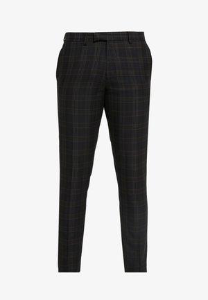 NEW ORLEANS CHECK  - Pantalon de costume - navy