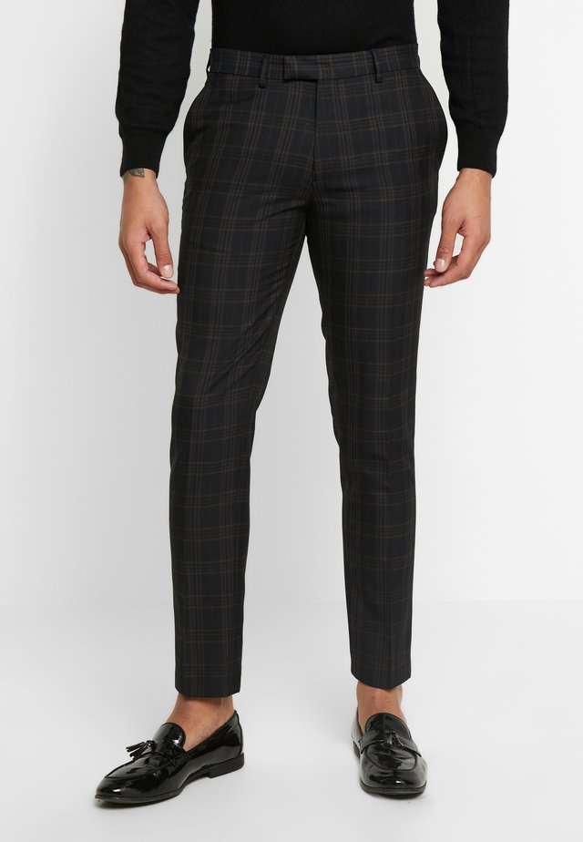 NEW ORLEANS CHECK  - Suit trousers - navy