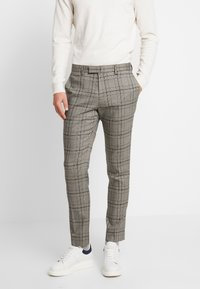 River Island - Pantalon de costume - grey - 0