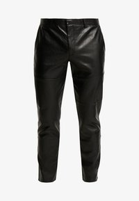 River Island - Leather trousers - black - 3