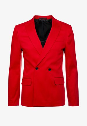 Suit jacket - red