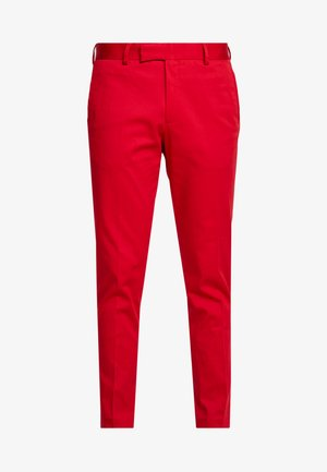 FYNE AND DANDY - Pantalon de costume - red
