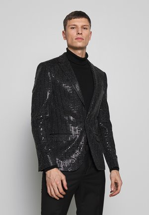 NORMAN SEQUIN - Blazer - black