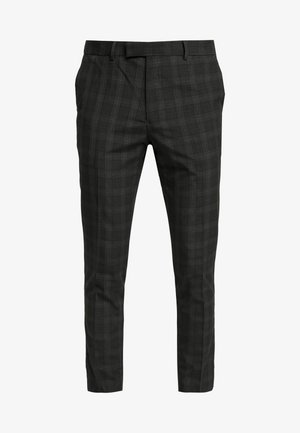 SKINNY CHECK  - Suit trousers - grey