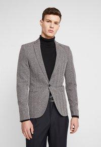 River Island - HERRINGBONE  - Blazer jacket - grey - 0