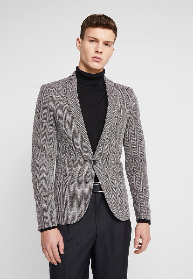 River Island - HERRINGBONE  - Blazer jacket - grey