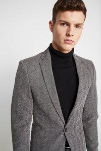 River Island - HERRINGBONE  - Blazer jacket - grey - 3