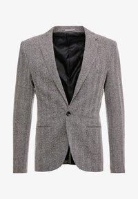 River Island - HERRINGBONE  - Blazer jacket - grey - 4