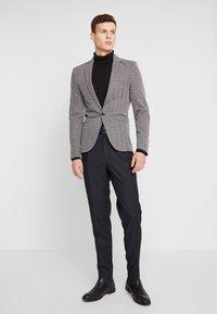 River Island - HERRINGBONE  - Blazer jacket - grey - 1