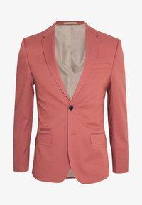 River Island - EDWARD SKINNY FIT - Giacca elegante - pink - 6