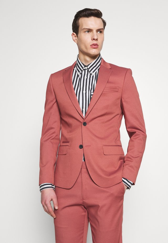 EDWARD SKINNY FIT - Suit jacket - pink