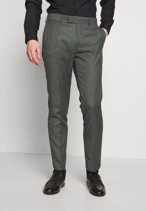 MORMONT  - Oblekové kalhoty - green