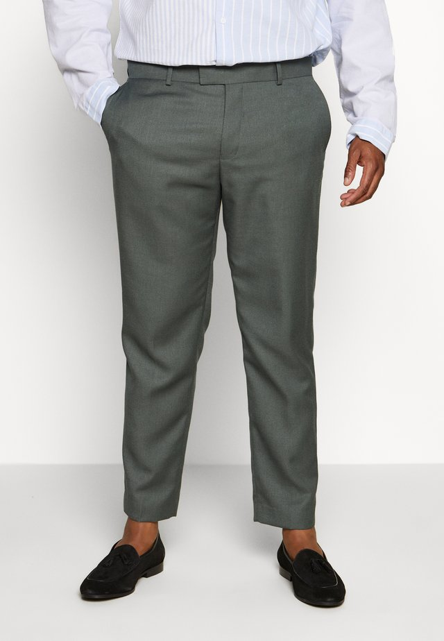 B&T MORMONT - Suit trousers - green