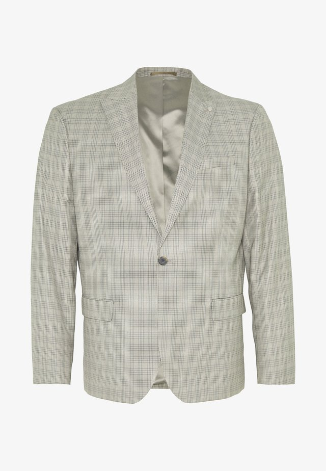 TYRELL CHECK - Suit jacket - brown