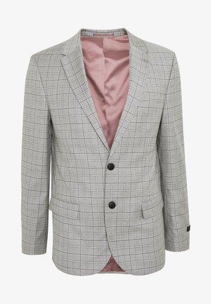 TARGARYEN MINI CHECK SKINNY  - Giacca elegante - grey