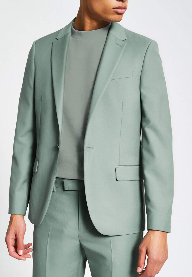 River Island - Veste de costume - green