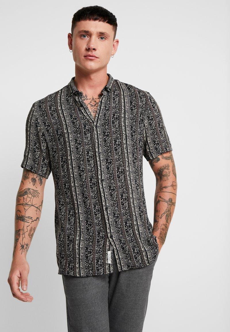 River Island - AZTEC GDAD - Shirt - black