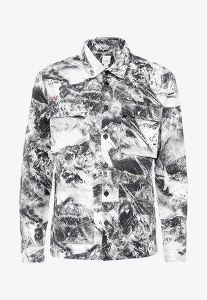 SNOW CAMO OVERSHIRT - Skjorter - white