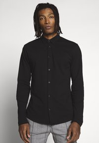 River Island - Long sleeved top - black - 0
