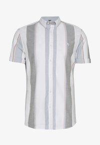 River Island - WIDE OXFORD STRIPE - Shirt - white - 0
