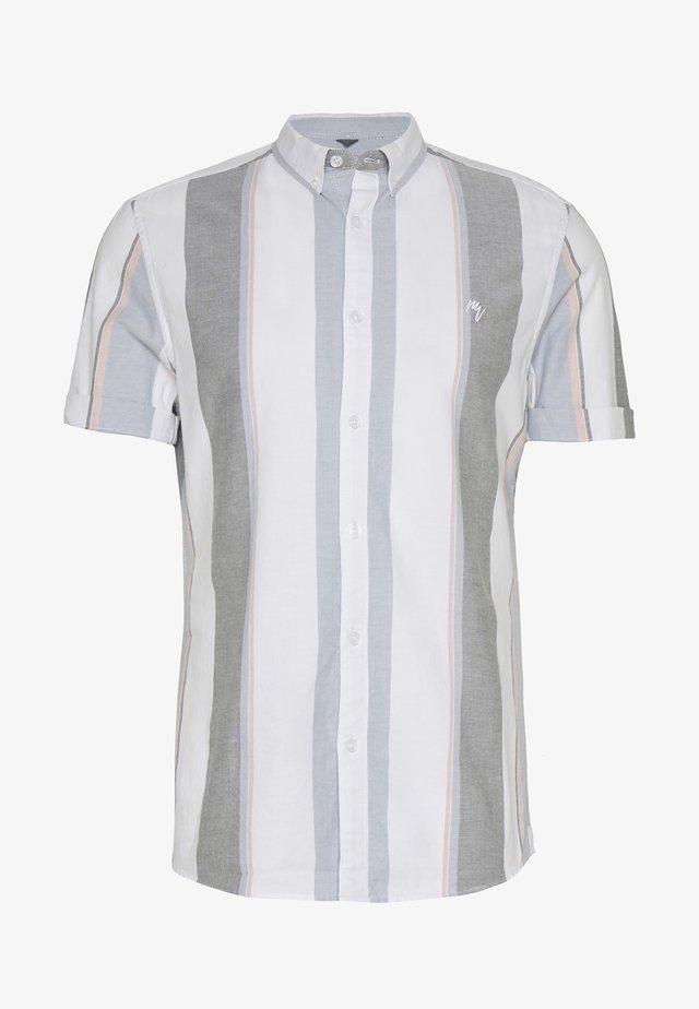 WIDE OXFORD STRIPE - Skjorta - white
