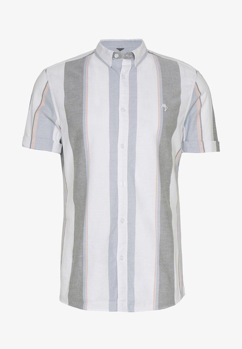 River Island - WIDE OXFORD STRIPE - Shirt - white