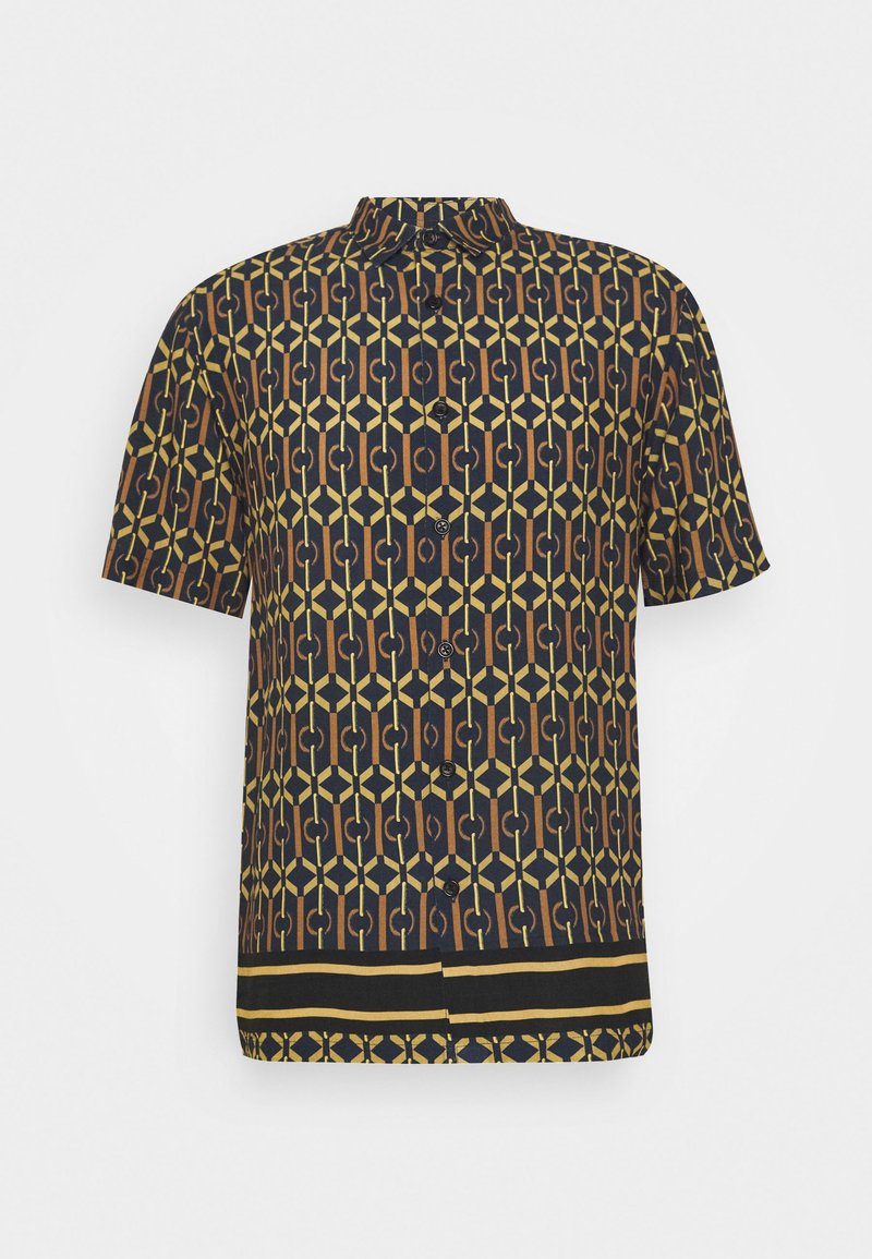 River Island - GEO BORDER - Shirt - geo