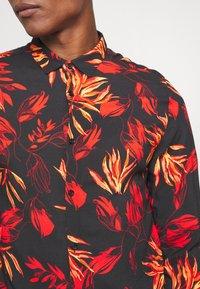 River Island - FLORAL - Shirt - black - 5