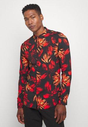 FLORAL - Camisa - black