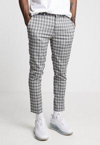 River Island - Pantalon classique - black/grey - 0