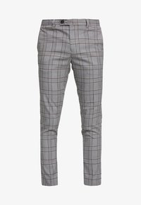 River Island - GARNET CHECK POW ULTRA - Broek - grey - 4
