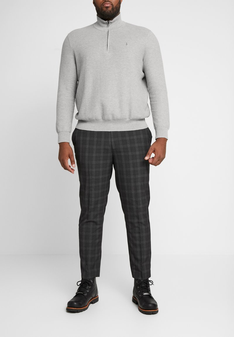 River Island - CHECK - Bukser - grey