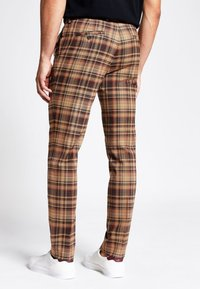 River Island - Tygbyxor - brown - 2