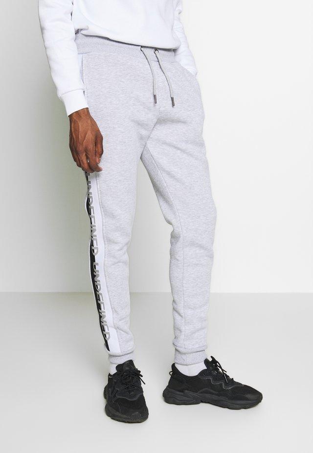 Träningsbyxor - grey - marl