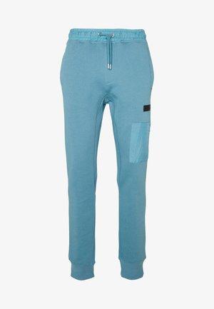 Tracksuit bottoms - slate blue/grey