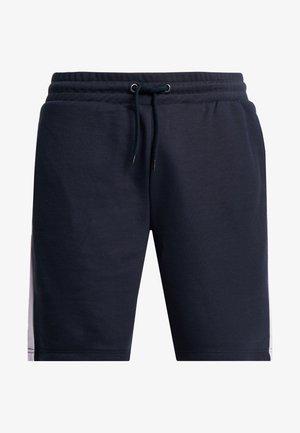 Teplákové kalhoty - navy/lilac