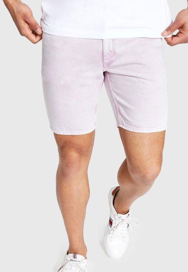 DYLAN WASH SLIM FIT - Jeansshorts - pink